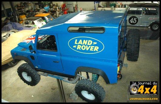 Pr paration 4x4 land rover 90 v8 magazine 4x4 suv for Arceau exterieur 4x4
