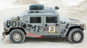 Hummer H1 Technoraid préparé pour le Raid Hummer