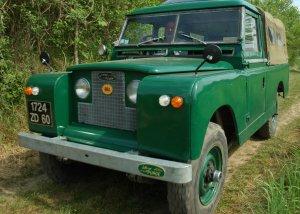 Restauration Land Rover 109 Serie
