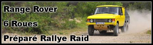 TransAfricaine Classic : un Range à 6 roues