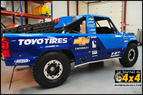 Lisboa Dakar 2008 : trophy truck chevrolet Pro-system Racing