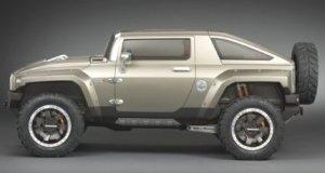 HX Hummer un séduisant concept car