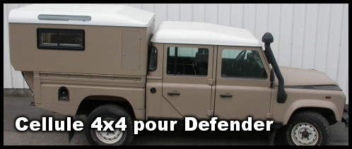 Cellule 4×4  pour Defender 110 / 130 – Cap Lander