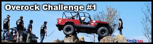 Overock challenge du rockcrawling à Charade