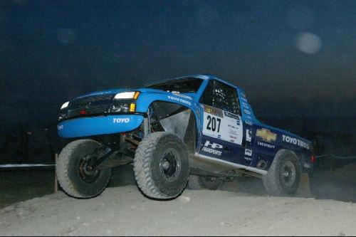 Trophy Truck au Rallye de Tunisie