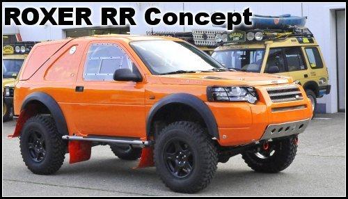 Roxer RR concept de Rudy Roquesalane