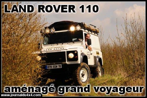 Aménager un 4X4 Land Rover 110 pour un raid autour du monde