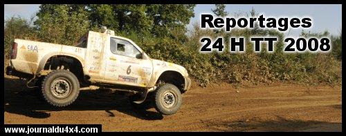 Index des reportages des 24 H TT 2008