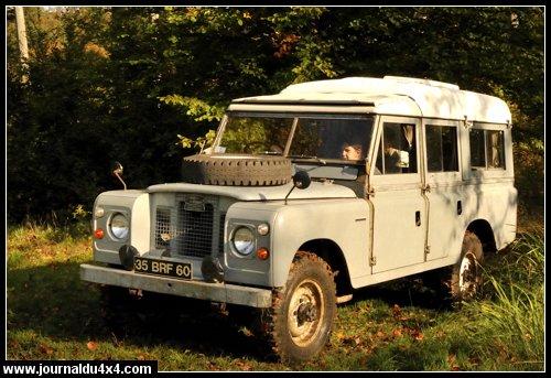 Land Rover Dormobile serie II de 1969