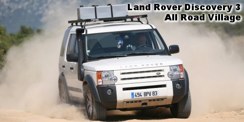 Land Rover Discovery 3  All Road Village  Un bel exercice de style.