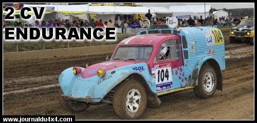 2 CV : la fourgonnette en rallye d'endurance