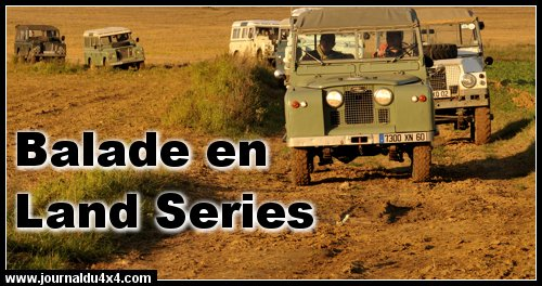 Balade 4×4 en Land Rover SERIES
