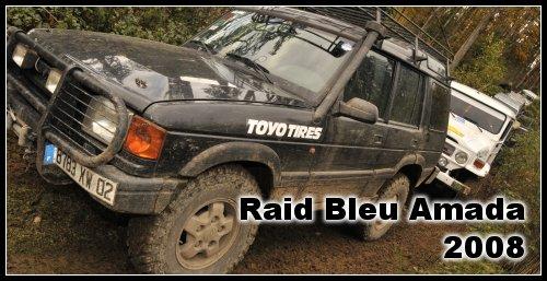 Photos Raid Bleu 2008 dans le Beaujolais