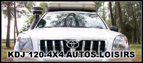 KDJ 120 préparé raid par 4×4 Autos Loisirs