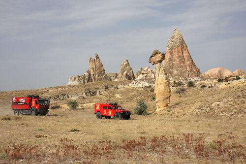 Cape to Cape en Turquie