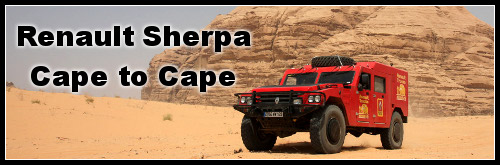 Renault Sherpa Cape to Cape