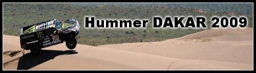Hummer Dakar 2009 : E.Vigouroux au volant