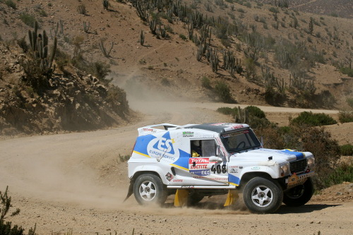 Technoraid Dakar 2009 en Wildcat : photos et news