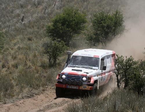 Photos Dakar 2009 C.GIRARD de Modulauto