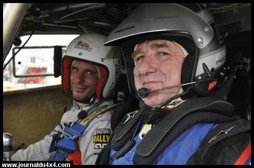BUGGY RMA Dakar 2009, mon équipage «chouchou»