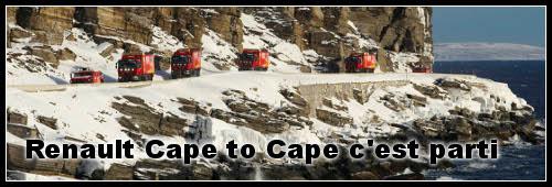 Expédition Cape to Cape c'est parti