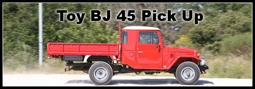 toyota bj 45 pick up magazine 4x4 suv. Black Bedroom Furniture Sets. Home Design Ideas