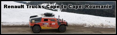 Roumanie Cape to Cape Renault Trucks