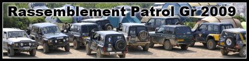 Patrol Gr : rassemblement 4×4 2009