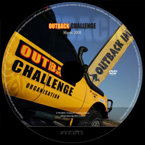 Outback Challenge, le DVD 2008 du 4×4 extrème est disponible