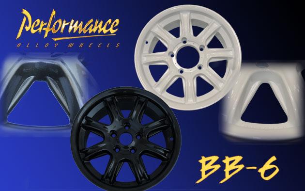 Jantes BB6 nouveau design