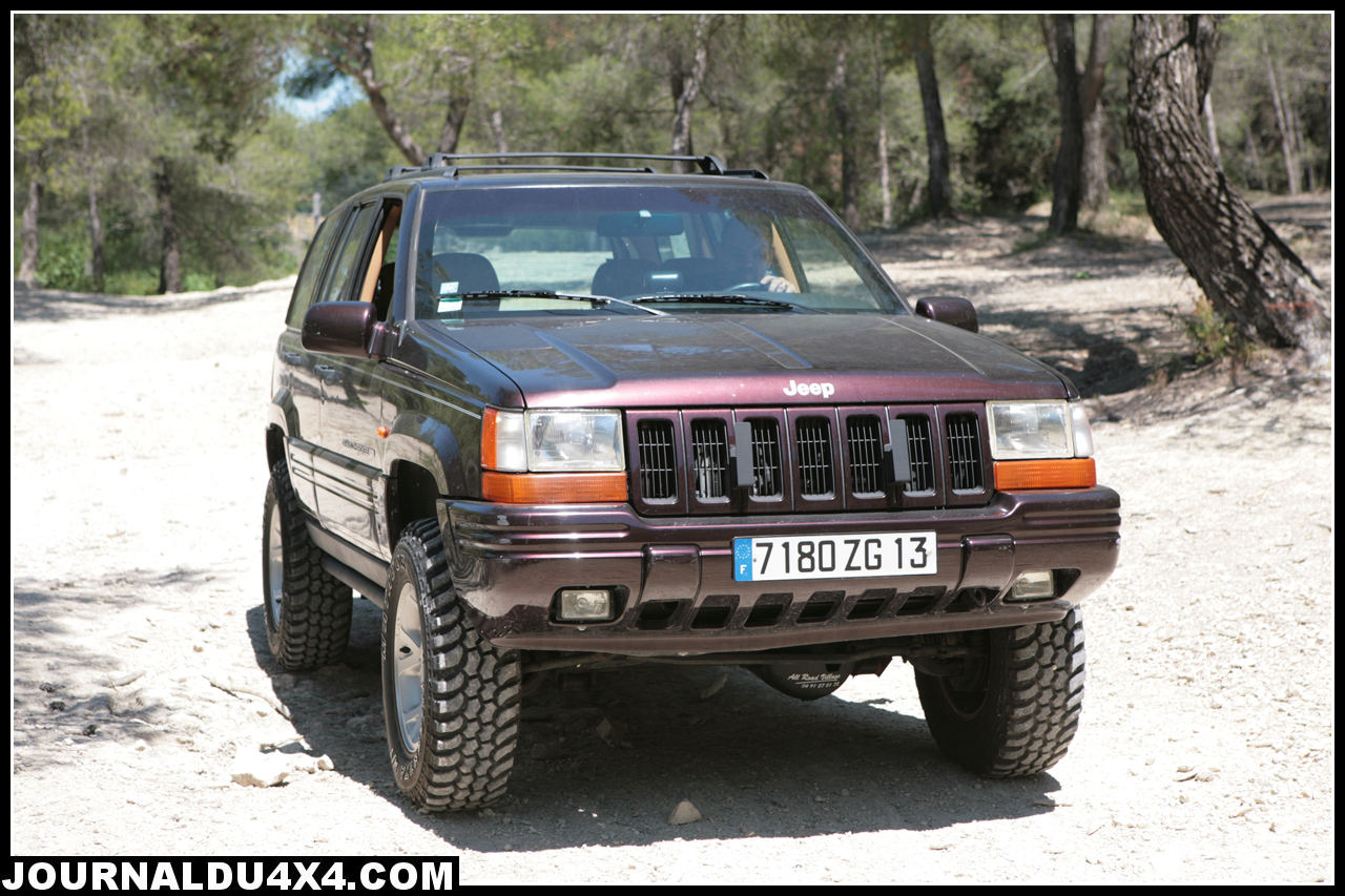 Jeep Grand Cherokee V8 5,2L préparation All Road Village