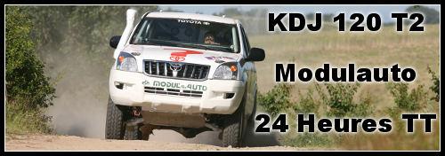 KDJ 120 T2 : prêt pour les 24 H TT