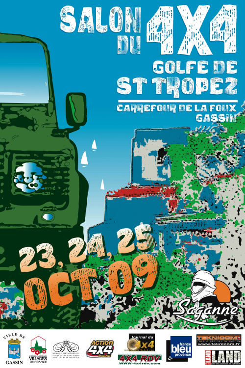 SALON 4×4 DE SAINT-TROPEZ – 23 au 25 octobre 2009.