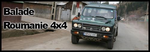 Roumanie en 4×4