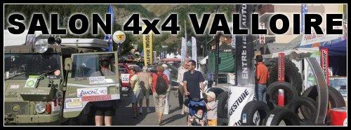 Valloire 2009 le salon 4×4 qui monte