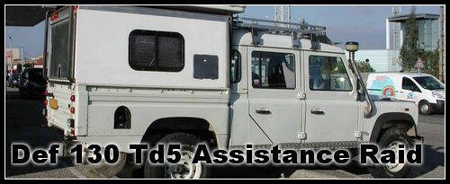 Land Rover 130 TD5  Assistance raid