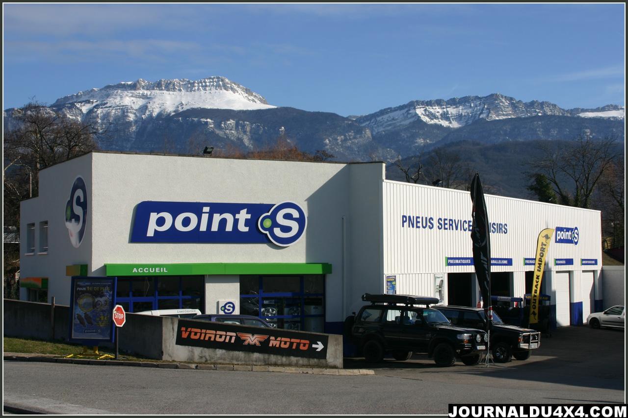 Pneus Services Loisirs (Point S Voiron)