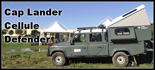 cap lander cellule 4x4 defender les nouveaut s 2009. Black Bedroom Furniture Sets. Home Design Ideas