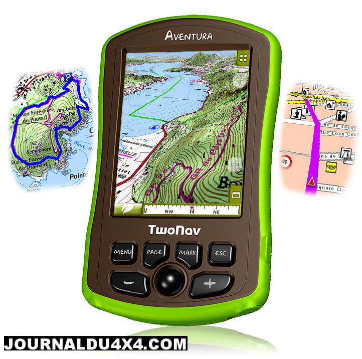 GPS AVENTURA (compatible cartographie Afrique)