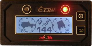 inclinomètre et boussole numérique d6tm