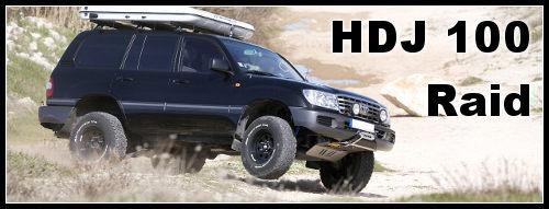 HDJ 100 préparation raid 1ère classe