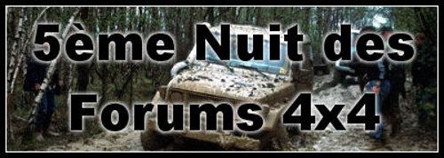 Nuit des Forums 4×4 : 5ème édition