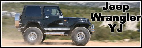 Jeep Wrangler YJ : préparation fun