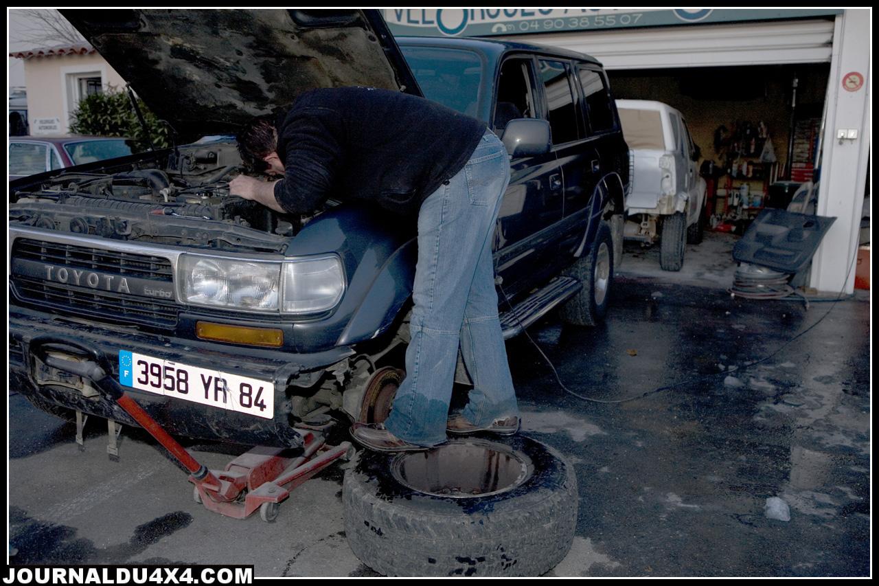 Réparation du démarreur Toyota HDJ 80