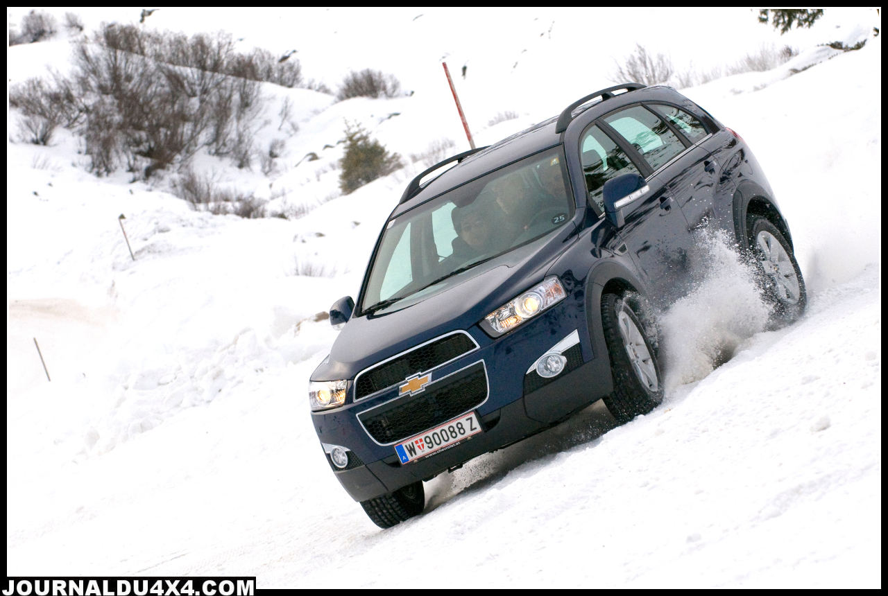 Essai Chevrolet Captiva prix – photo – test