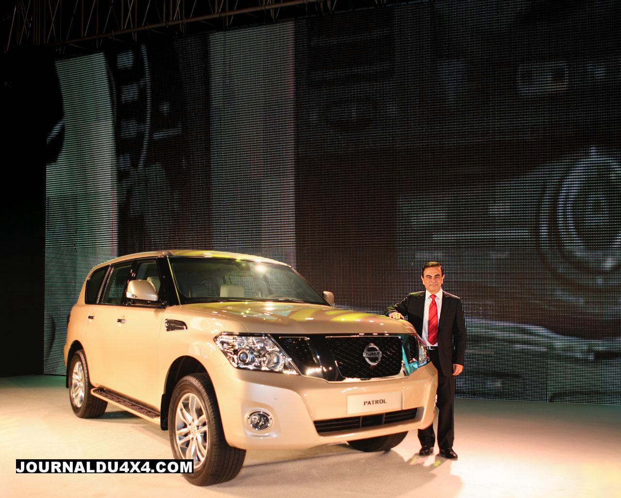 Nouveau 4×4 Nissan Patrol 2010