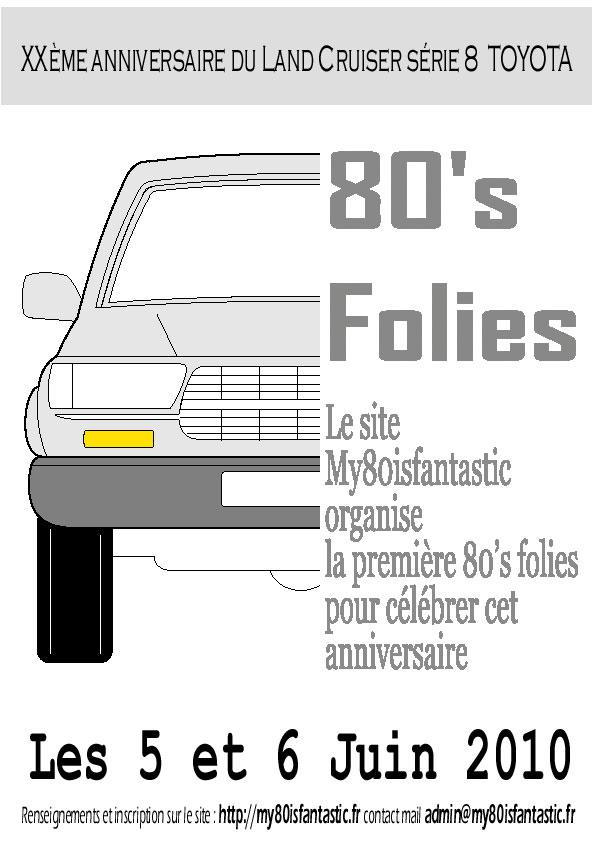 My80isfantastic organise la première 80's Folies pour célébrer les 20 ans du 80