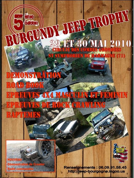 Burgundy Jeep Trophy 2010