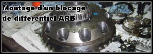 montage blocage différentiel ARB