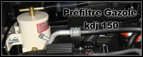 Préfiltre 4×4 RACOR sur KDJ 150/155 : un kit disponible